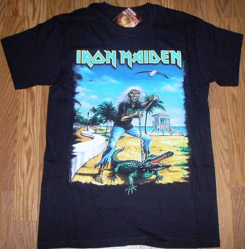 Iron Maiden T Shirt Florida Brand New with tag Size S