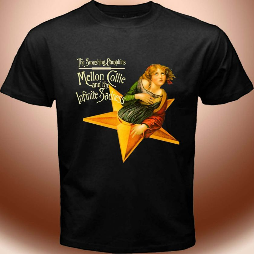 The Smashing Pumpkins Alternative Rock Band Shirt Mellon Collie T